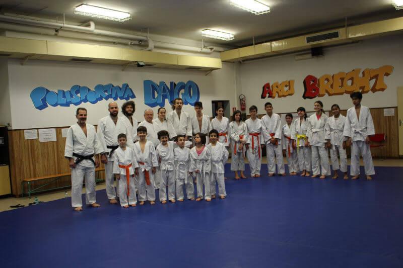 Attività sportiva in collaborazione con la polisportiva Daigo